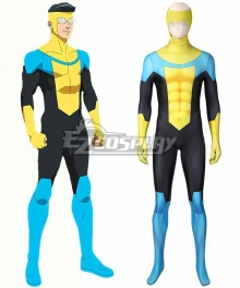 Invincible Mark Grayson Jumpsuit Halloween Printed Cosplay Costume