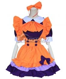 Halloween Maid Dress Cosplay Costume - EMDS057Y