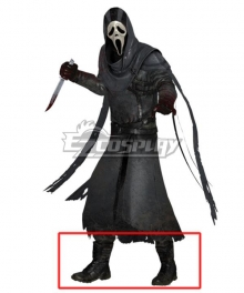 """Dead by Daylight Danny """"Jed Olsen"""" Johnson The Gost Face Ghostface Halloween Black Cosplay Shoes"""