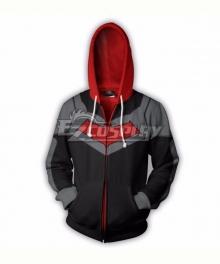 DC Comics Red Hood Jason Todd Coat Hoodie Cosplay Costume