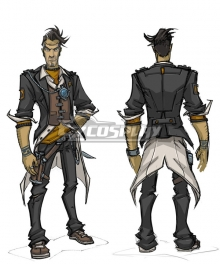 Borderlands 2 Handsome Jack Cosplay Costume