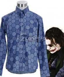 DC Batman Dark Knight Joker Jack Napier Shirt Cosplay Costume