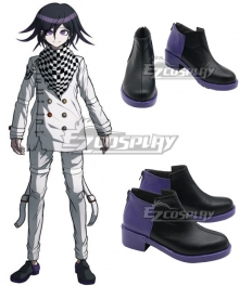 Danganronpa V3: Killing Harmony Kokichi Oma Black Cosplay Shoes