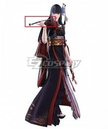 Final Fantasy XIV Yotsuyu Goe Brutus Pipe Cosplay Weapon Prop