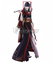 Final Fantasy XIV Yotsuyu Goe Brutus Black Cosplay Wig