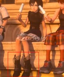 Kingdom Hearts III Xion Black Cosplay Shoes