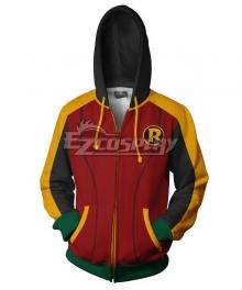 DC Comics Robin Coat Hoodie Cosplay Costume