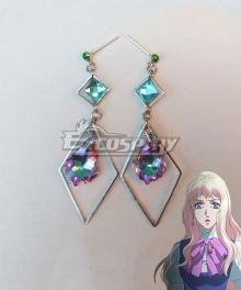 Macross Frontier Sheryl Nome B Earring Cosplay Accessory Prop