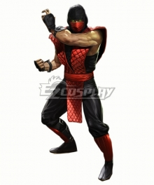 Mortal Kombat Sub-Zero Sub Zero Cosplay Costume Red edition