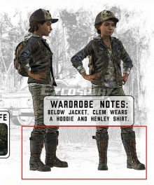 Telltale's The Walking Dead: The Final Season Clementine Black Shoes Cosplay Boots