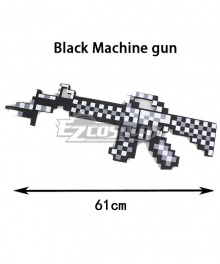 Minecraft First Person Machine Gun Cosplay Weapon Prop