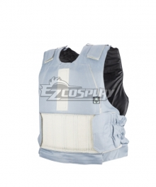 Rainbow Six Siege Jager Cosplay Costume Only White Vest
