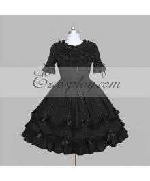 Black Gothic Lolita Dress -LTFS0085