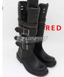 Identity V Forward Red Shoes Cosplay Boots