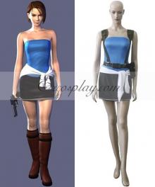 Resident Evil Game Jill Valentin Cosplay Costume