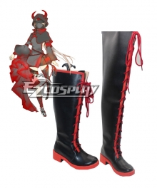 FFF Fatal Fire Fukanzenna Female Cosplay Shoes