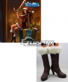 League of Legends Miss Fortune Cosplay Boots