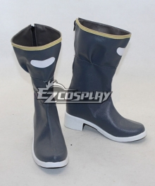 Sword Art Online Gun Gale Online Sinon Third Version Blue Shoes Cosplay Boots