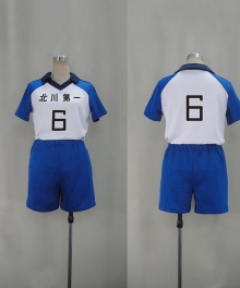 Haikyu!! Kitagawa Daiichi Junior High School Uniforms and Kageyama Flying Male Cosplay Costume