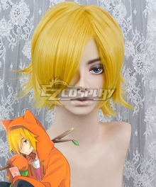 #COMPASS Marcos SS Golden Cosplay Wig