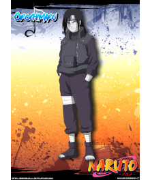 Orochimaru Cosplay Costume From Natuto