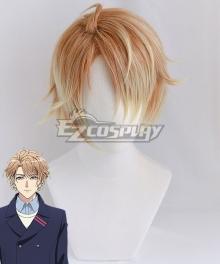 A3! Chigasaki Itaru Golden Brown Cosplay Wig