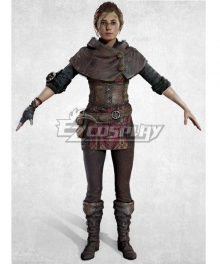 A Plague Tale: Innocence Amicia De Rune New Edition Cosplay Costume