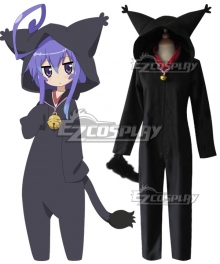 Acchi Kocchi Tsumiki Miniwa Black Cat Cosplay Costume