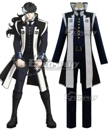 Ace Attorney Simon Blackquill Cosplay Costume