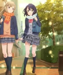 Adachi and Shimamura Adachi Sakura Cosplay Costume