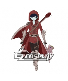 Adventure Time Seam Punk Marshall Lee Cosplay Costume