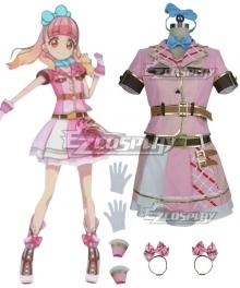 Aikatsu Friends! Aine Yuki Cosplay Costume