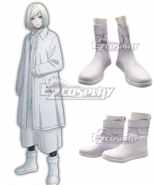 Akudama Drive Ordinary Courier Hakobiya Black Cosplay Shoes