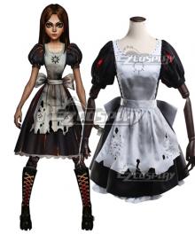 Alice: Asylum Alice: Madness Alice Ash Dress Cosplay Costume