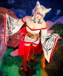 Ameratsu Okami Cosplay Costume