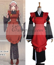 AMNESIA Sawa Mine Working Cosplay Costume