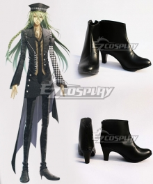 AMNESIA Ukyo Black Cosplay Shoes