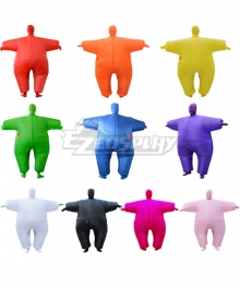 Among Us Adult Size Inflatable Full Body 10 Color Jumpsuit Costume