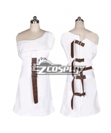 Alice: Madness Returns Alice Cosplay Costume - White