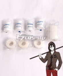 Angels Of Death Satsuriku No Tenshi Zack Bandage Cosplay Accessory Prop