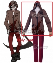 Angels Of Death Satsuriku No Tenshi Zack Cosplay Costume-Only Coat