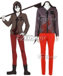 Angels Of Death Satsuriku No Tenshi Zack Cosplay Costume - New Edition