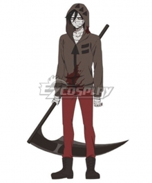 Angels Of Death Satsuriku No Tenshi Zack Scythe Cosplay Weapon Prop - A Edition
