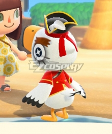 Animal Crossing: New Horizon Gulliver Gullivarrr Cosplay Costume