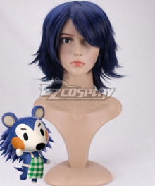 Animal Crossing: New Horizon Mabel Blue Cosplay Wig