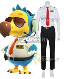 Animal Crossing: New Horizon Wilbur Dodo Bird Orville Cosplay Costume