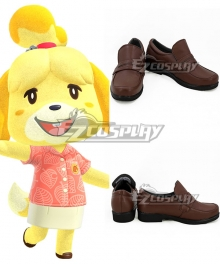 Animal Crossing: New Horizons Isabelle Brown Cosplay Shoes