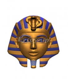 Animal Crossing: New Horizons King Tut Mask Cosplay Accessory Prop