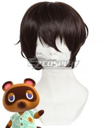 Animal Crossing: New Horizons Tom Nook Brown Cosplay Wig