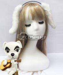 Animal Crossing New Horrizon K.K. Slider Ears Cosplay Accessory Prop